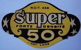 Rare étiquette. Brasserie Du Lion à Tournai. Super 50. - Tournai