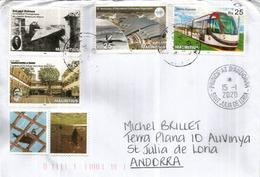 Belle Lettre île Maurice (Anniversaries) 2019 (Nicéphore Niepce,inventeur De La Photographie,Metro Express,etc) - Mauritius (1968-...)