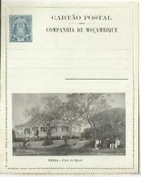 COMPANHIA DE MOÇAMBIQUE ENTERO POSTAL BEIRA CLUB DO SPORTS DEPORTE - Briefmarken