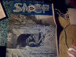 SNCF Train Chemin De Fer Revue Notre Métier 0610 1946 La Réouverture Du Tunnel Du Fréjus - Livres, BD, Revues