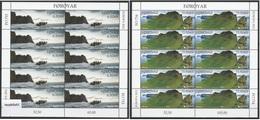 Europa Cept - 2012 - Faroer, Foroyar - 2.Sheetlet Of 10 Set - (Visit) ** MNH - Europa-CEPT