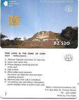 @+ Belize - Altun Ha, Mayan Ruin - Ref : BLZ-BTL-02B (Chip Gem 1A) - Belize