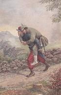 Grandeur D'âme Soldat Français Soldat Allemand - Guerre 1914-18