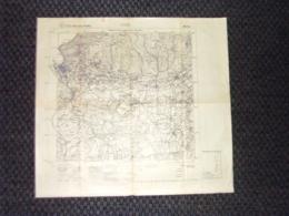 Grande Carta Topografica Como Lombardia Dettagliatissima I.G.M. - Landkarten