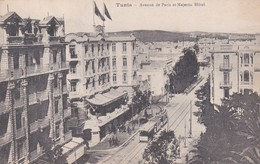TUNIS    AVENUE DE PARIS ET MAJESTIC  HOTEL - Tunisie