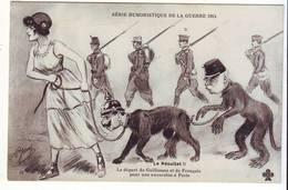 Cpa  Humoristique De La Guerre 1914 (jarny) - Humor