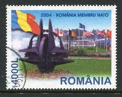 ROMANIA 2004 Romanian Entry Into NATO  Used.  Michel 5806 - 1948-.... Repúblicas