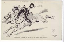 Cpa  Humoristique  Le Kronprinz Fougre De Guerre - Humor