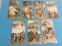 7 Vintage.. Holy Card /Heilig Prentje. - Images Religieuses