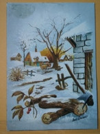 KOV 8-186 - NEW YEAR, Bonne Annee, NATURE, LANDSCAPE - New Year