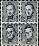 1961 Pro Juventute J. Furrer Viererblock MiNr: 742 - Pro Juventute