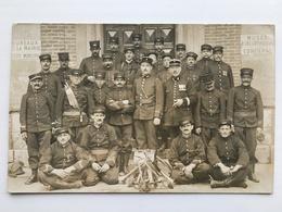 Foto Ak Music Trompet Sappeurs Pompiers? Soldats Francais Uniform Lyon - War 1914-18