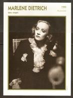 PORTRAIT DE STAR 1940 ALLEMAGNE - ACTRICE MARLENE DIETRICH - GERMANY ACTRESS CINEMA FILM PHOTO - Fotos
