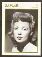 PORTRAIT DE STAR 1945 ALLEMAGNE - ACTRICE LILI PALMER - GERMANY ACTRESS CINEMA FILM PHOTO - Fotos