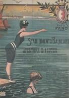 Pubblicitari - Le Vacanze Degli Italiani - Città Di Fano - Stabilimento Balneare 1905 C. - - Werbepostkarten