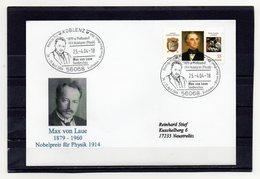 BRD, 2004, Brief (echt Gelaufen) Mit Michel 2337, Sonderstempel, Max Von Laue/Nobelpreis Physik - Lettres