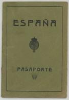 Passeport Espagnol Valable Pour La France. España. Pasaporte. Délivré à Alicante En 1930. Cachets. - Documents Historiques