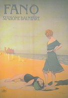 Pubblicitari - Le Vacanze Degli Italiani - Città Di Fano - Stazione Balneare 1912 -13 - - Werbepostkarten