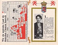 "WWII WW2 Propaganda Leaflet Flugblatt Tract  CODE L.2  ""Iwer D'Gri'ewer Vun Onsen Verstürwenen… FREE SHIPPING WORLDWIDE - Unclassified"