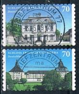 2018  Schloss Falkenlust Zu Brühl Und Friedenstein Gotha (selbstklebend) - Usati