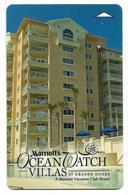 Marriot Ocean Watch Villas, U.S.A., Used Magnetic Hotel Room Key Card #  Marriot-183 - Hotel Keycards