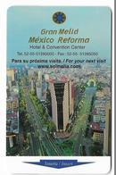 Gran Meliá Mexico Reforma, Used Magnetic Hotel Room Key Card # Meliá-124 - Hotel Keycards