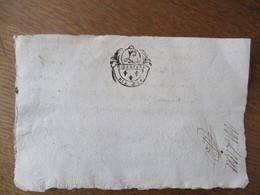 G. D'AMIENS DIX DEN.   PREMIER JUIN 1754 A LA REQUÊTE DE - Cachets Généralité