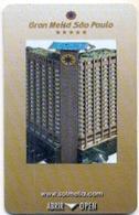 Gran Meliá Sao Paulo, Brazil, Used Magnetic Hotel Room Key Card # Meliá-34 - Hotel Keycards