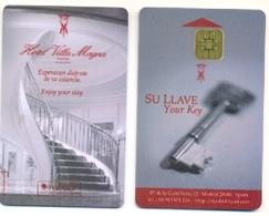 Park Hyatt Villa Magna Hotel, Madrid, Spain, Used Smart (chip) Hotel Room Key Card # Villamagna-2  Villamagna-1 - Hotel Keycards