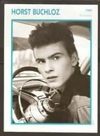 PORTRAIT DE STAR 1960 ALLEMAGNE - ACTEUR HORST BUCHLOZ - GERMANY ACTOR CINEMA FILM PHOTO - Fotos