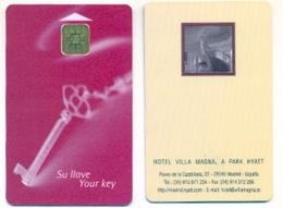 Park Hyatt Villa Magna Hotel, Madrid, Spain, Used Smart (chip) Hotel Room Key Card # Villamagna-4 - Hotel Keycards