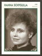 PORTRAIT DE STAR 1980 ALLEMAGNE - ACTRICE HANNA SCHYGULLA - GERMANY ACTRESS CINEMA FILM PHOTO - Fotos