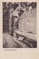 AK Beobachtungsposten - Deutscher Soldat Mit Fernglas - 1916  (46825) - Guerre 1914-18