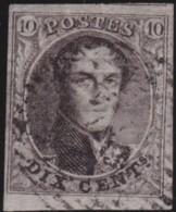 Belgie    .    OBP        .     3A  (2 Scans)     .         O      .      Gebruikt   .    /    .   Oblitéré - 1849-1850 Medaillen (3/5)
