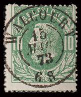 "COB N°30 - Obl.""CONCOURS"" D.C. - WALCOURT - 1869-1883 Leopold II."