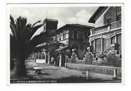 2709 - MARINA DI MASSA VILLINI SUL MARE ESEMPLARE FUORI COMMERCIO STAMPATA FOTOCELERE 1941 - Massa