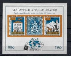 SUISSE 1965:  Vignette 'Centenaire De La Poste De Champéry' Neuve ** - Suisse