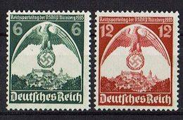 DR 1935 // Mi. 586/587 ** - Germany