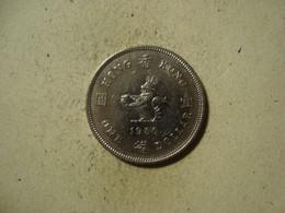 MONNAIE HONG KONG 1 DOLLAR 1980 - Hongkong