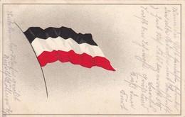 AK Deutsche Flagge - Patriotika - Feldpost 1915  (46834) - Guerre 1914-18