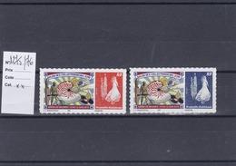 Timbres Personnalisés Adhésifs NOUVELLE CALEDONIE N°1275/1276 Avec Logo Cagou . Rares . Petits Tirages - Nuevos