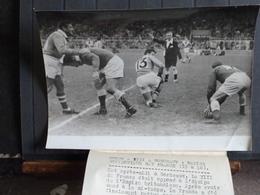 Photo De Presse - Agence Intercontinentale - Rugby à XIII - France - Empire Britannique à Bordeaux 18/10/1953 - Sports
