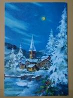KOV 8-188 - NEW YEAR, Bonne Annee, NATURE, LANDSCAPE, - New Year