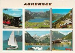 Autriche Achensee Divers Aspects (2 Scans) - Jenbach