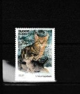 "3284 OBL  Y & T     L'européen  ""Animal Chat""   15A - Francia"