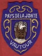 ** ECUSSON  PAYS  De  La  JOHTE  -  VAUTOUR ** - Ecussons Tissu