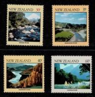 New Zealand 1981 Rivers Set Of 4 MNH - Nieuw-Zeeland