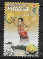 TONGA  N° 1171  * *   Jo 2000 Halterophilie - Gewichtheffen