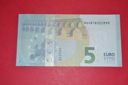 AUSTRIA - 5 EURO N014 H4 - NA4818322999 - UNC - NEUF - EURO