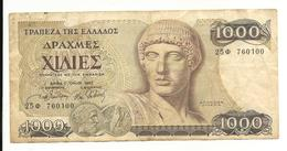 Greece 1000 Drachmes 1987 VF - Griekenland